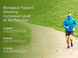 Biological Hazard Showing Increased Level Of Air Pollution