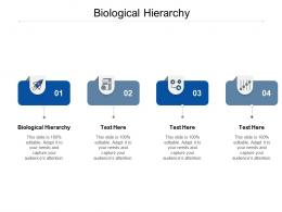 Biological Hierarchy Ppt Powerpoint Presentation Layouts Format Cpb