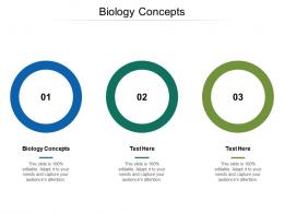 Biology Concepts Ppt Powerpoint Presentation File Vector Cpb