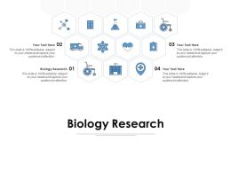 Biology Research Ppt Powerpoint Presentation Infographic Template Information
