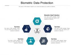 Biometric Data Protection Ppt Powerpoint Presentation Styles Guide Cpb