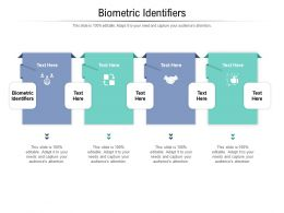 Biometric Identifiers Ppt Powerpoint Presentation Icon File Formats Cpb
