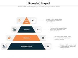 Biometric Payroll Ppt Powerpoint Presentation Outline File Formats Cpb