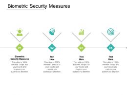 Biometric Security Measures Ppt Powerpoint Presentation Layouts Example Topics Cpb