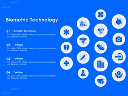 Biometric Technology Ppt Powerpoint Presentation Portfolio Styles