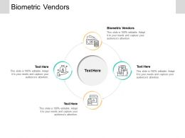 Biometric Vendors Ppt Powerpoint Presentation Layouts Show Cpb