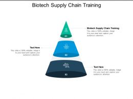 Biotech Supply Chain Training Ppt Powerpoint Presentation Infographics Files Cpb