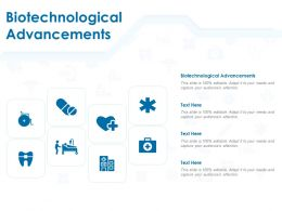 Biotechnological Advancements Ppt Powerpoint Presentation Inspiration Elements