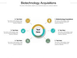 Biotechnology Acquisitions Ppt Powerpoint Presentation Summary Slide Download Cpb