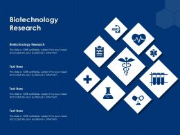 Biotechnology Research Ppt Powerpoint Presentation Show Background Images