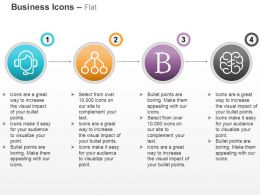 Bit Coins Brain Support Network Ppt Icons Graphics