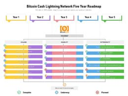 Bitcoin Cash Lightning Network Five Year Roadmap