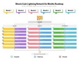 Bitcoin Cash Lightning Network Six Months Roadmap