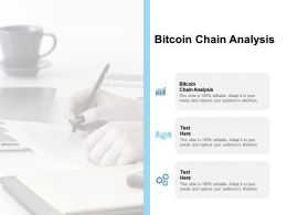 Bitcoin Chain Analysis Ppt Powerpoint Presentation Layouts Master Slide Cpb