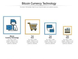 Bitcoin Currency Technology Ppt Powerpoint Presentation Professional File Formats Cpb