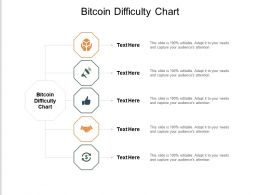 Bitcoin Difficulty Chart Ppt Powerpoint Presentation Pictures Tips Cpb