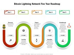 Bitcoin Lightning Network Five Year Roadmap