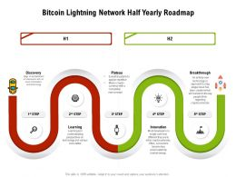 Bitcoin Lightning Network Half Yearly Roadmap