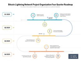 Bitcoin Lightning Network Project Organization Four Quarter Roadmap