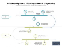 Bitcoin Lightning Network Project Organization Half Yearly Roadmap
