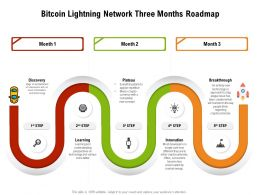 Bitcoin Lightning Network Three Months Roadmap