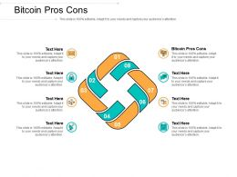 Bitcoin Pros Cons Ppt Powerpoint Presentation Styles Show Cpb