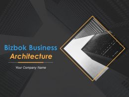Bizbok Business Architecture Powerpoint Presentation Slides