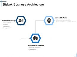 Bizbok Business Architecture Ppt Show Vector