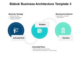 Bizbok Business Architecture Template Business Strategy B159 Ppt Powerpoint Presentation Diagram