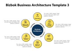 Bizbok Business Architecture Template Information Powerpoint Presentation Slides