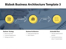 Bizbok Business Architecture Template Value Streams Powerpoint Slides