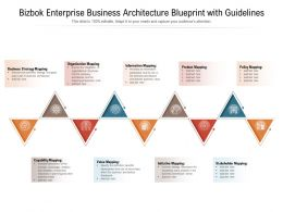 Bizbok Enterprise Business Architecture Blueprint With Guidelines