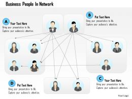 Bj Business People In Network Powerpoint Template