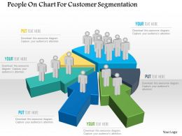 Bj People On Chart For Customer Segmentation Powerpoint Template