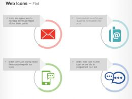 Bk Mail Internet Mobile Communication Technology Ppt Icons Graphics