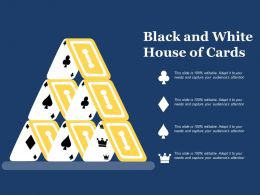 Black And White House Of Cards