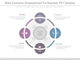Black Economic Empowerment For Business Ppt Samples