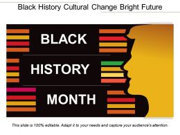 Black History Cultural Change Bright Future