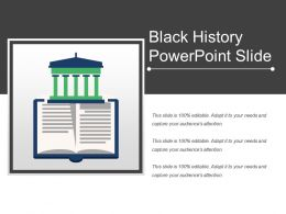 Black History Powerpoint Slide