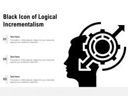 Black Icon Of Logical Incrementalism