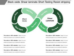 Black Oxide Shear Laminate Short Testing Resist Stripping
