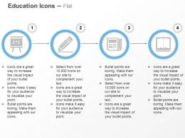 blackboard_pencil_calculator_book_ppt_icons_graphics_Slide01