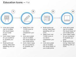 blackboard_pencil_calculator_book_ppt_icons_graphics_Slide01
