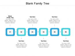 Blank Family Tree Ppt Powerpoint Presentation Themes Cpb