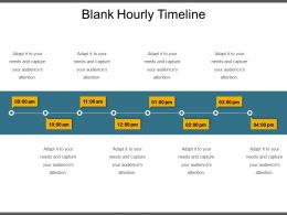 Blank Hourly Timeline Ppt Sample Download