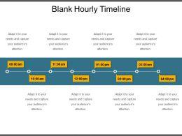 Blank Hourly Timeline Ppt Sample Download