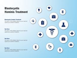 Blastocystis Hominis Treatment Ppt Powerpoint Presentation Professional Deck