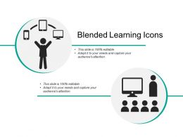 Blended Learning Icons