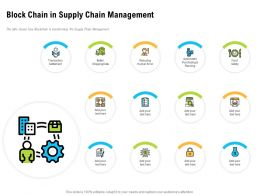 Block Chain In Supply Chain Management Shipping Data Ppt Powerpoint Rules