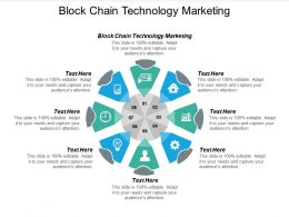 Block Chain Technology Marketing Ppt Powerpoint Presentation Summary Deck Cpb